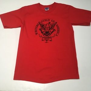 Writers Guild of America West Red Union Made
